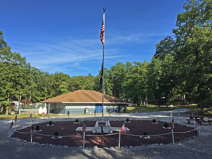 Veterans Memorial Flag